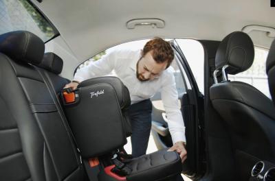 Trafold Taxie | les photos officielles du siège auto pliable
