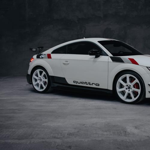 Audi TT RS 40 ans de quattro   Les photos de l'édition limitée anniversaire