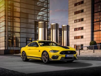 Ford Mustang Mach 1 | Les photos de la muscle car dédiée à la piste