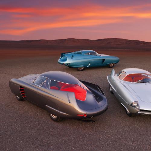 Alfa Romeo Berlina Aerodinamica Tecnica by Scaglione   Les photos du trio italien