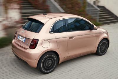 Fiat 500 3+1 | Les photos de la citadine à 4 portes