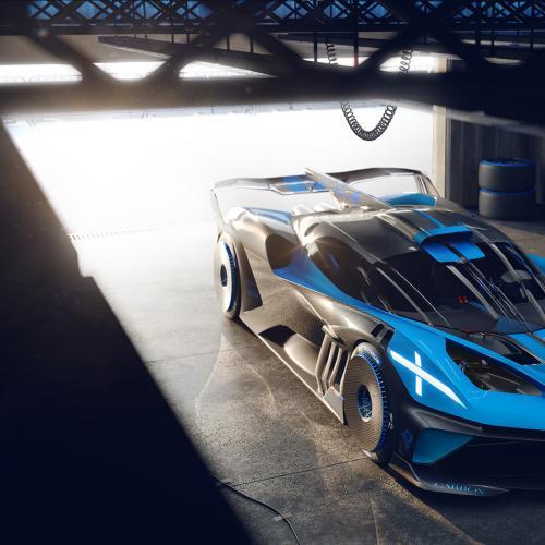 Bugatti Bolide | les photos officielles