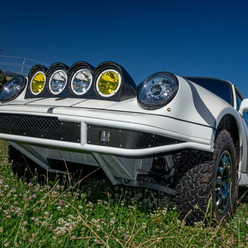 Porsche 911 Safari style | Les photos de la sportive préparée pour le rallye