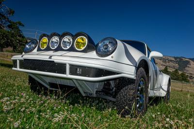 Porsche 911 Safari style   Les photos de la sportive préparée pour le rallye