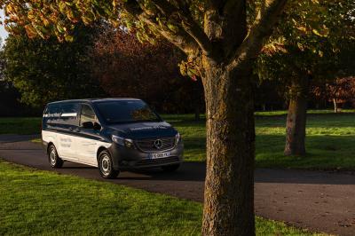 Mercedes eVito facelift   Les photos du fourgon 100% électrique