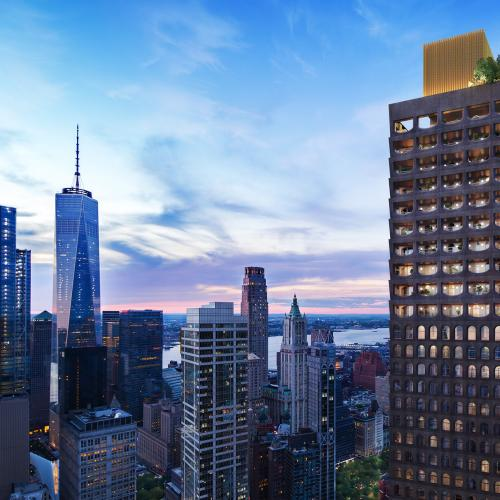 Aston Martin | les photos de son projet d'appartements grand luxe à New-York