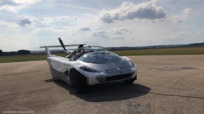 AirCar   les photos de la voiture volante de Klein Vision