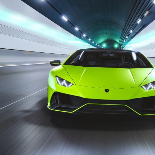 Lamborghini Huracán Evo Fluo Capsule | Les photos des teintes vives inédites