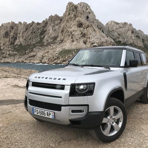 Essai du nouveau Land Rover Defender 110 | nos photos du franchisseur