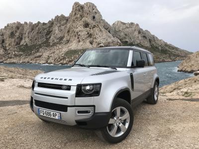 Essai du nouveau Land Rover Defender 110   nos photos du franchisseur
