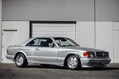 Mercedes-Benz 560 SEC AMG 6.0 Wide Body | Les photos du coupé allemand