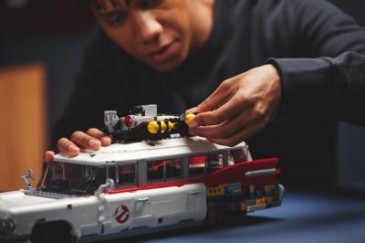 Ecto-1 de Ghostbusters   les photos de la version Lego