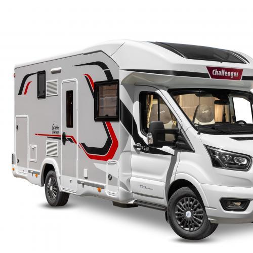 Challenger 260   les photos officielles du camping-car profilé