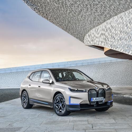 BMW iX | Les photos du nouveau SUV 100% électrique