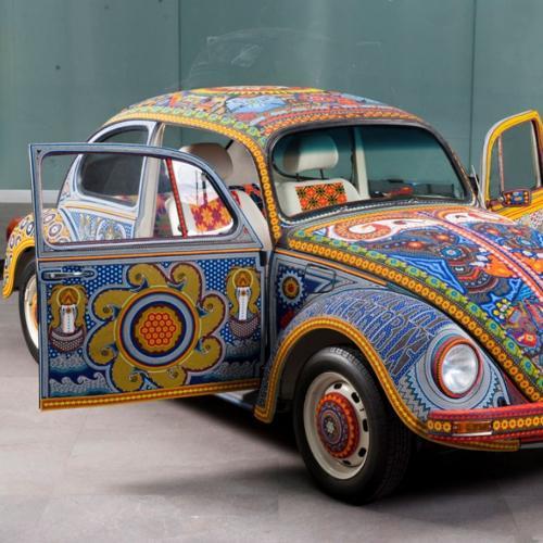 Coccinelle Vochol   les photos de la Volkswagen aux couleurs du Mexique
