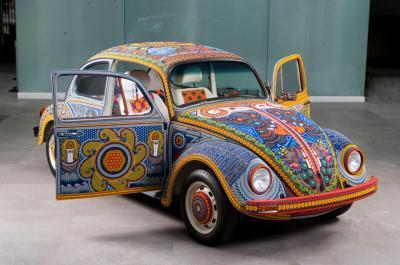 Coccinelle Vochol | les photos de la Volkswagen aux couleurs du Mexique