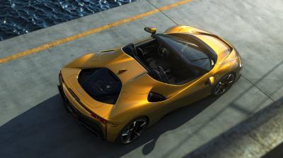 Nouvelle Ferrari SF90 Spider | l'hypercar hybride en chiffres