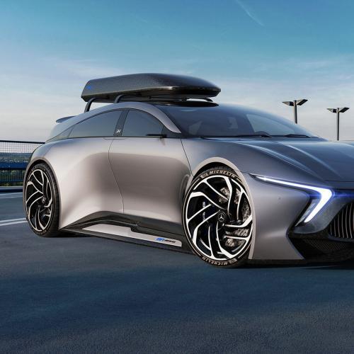 Mercedes EQR | un concept de break électrique par un designer indépendant