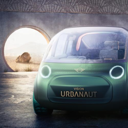 Mini Vision Urbanaut | Les photos du concept-car virtuel