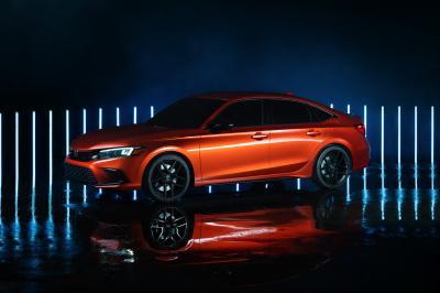 Honda Civic (2022) | Les photos du concept préfigurant la 11e génération