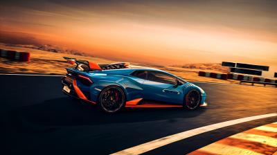 Lamborghini Huracán STO | Les photos de la super-sportive italienne