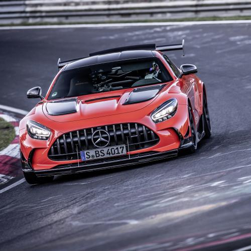 Mercedes-AMG GT Black Series | Les photos du record au Nürburgring