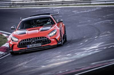 Mercedes-AMG GT Black Series | Les photos du record au Nürburgring