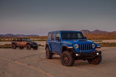 Jeep Wrangler Rubicon 392 (2021) | Les photos du tout-terrain à moteur V8