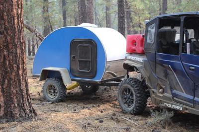 Mini caravane Boony | les photos de la roulotte