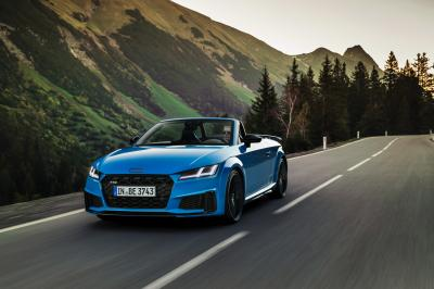 Audi TT bronze selection & TTS competition plus | Les photos des nouvelles finitions
