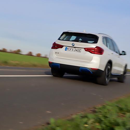 BMW iX3 | Toutes les photos de l'essai du SUV électrique