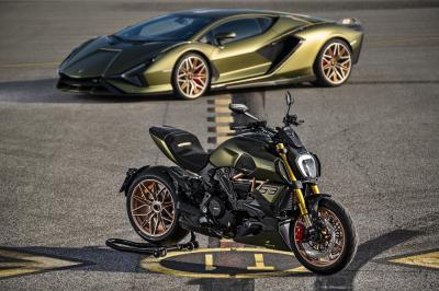 Ducati Diavel 1260 Lamborghini | Les photos de la moto en édition limitée