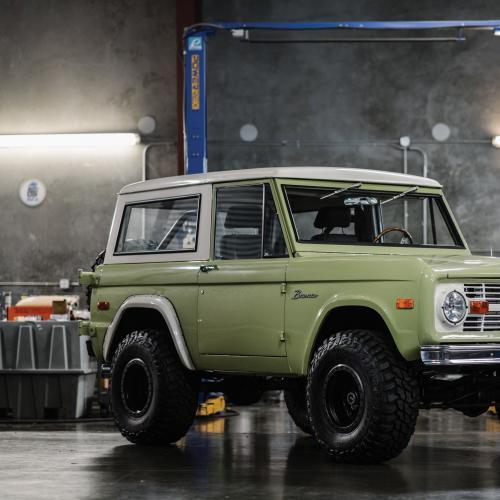 Ford Bronco Custom | Les photos du tout-terrain classique modifié