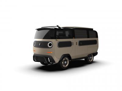 eBussy Camper | les photos du camping-car électrique