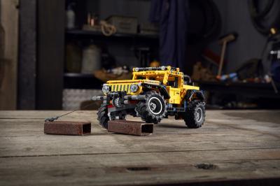 Jeep Wrangler Rubicon Lego | les photos du SUV aux 665 pièces