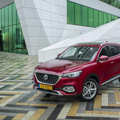 MG EHS Plug-In Hybrid | Les photos du SUV hybride rechargeable