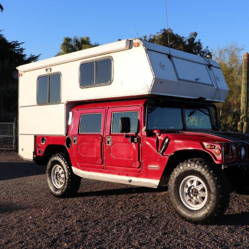 Hummer H1 | les photos du monstre transformé en camping-car
