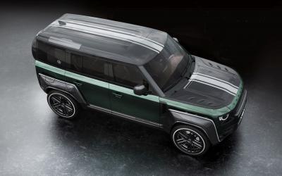Land Rover Defender Racing Green Edition | Les photos du SUV revu par Carlex Design