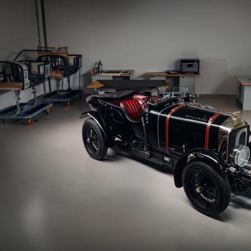 Bentley Blower Car Zero | Les photos du 1er prototype de la série Continuation
