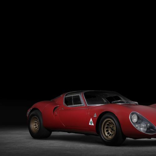 Alfa Romeo 4C Spider 33 Stradale Tributo   Les photos de la sportive hommage
