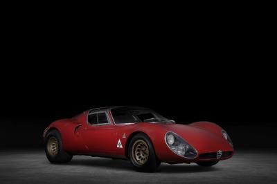 Alfa Romeo 4C Spider 33 Stradale Tributo | Les photos de la sportive hommage
