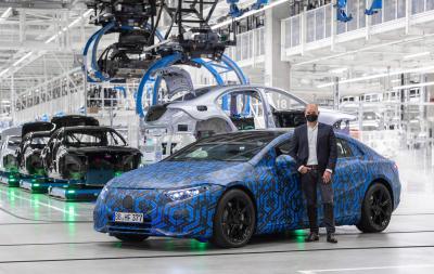 Mercedes EQ 2022 | Les photos des six modèles 100% électriques en préparation