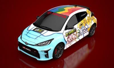 Toyota GR Yaris Design a Rally Car Livery | Les photos de la version hommage