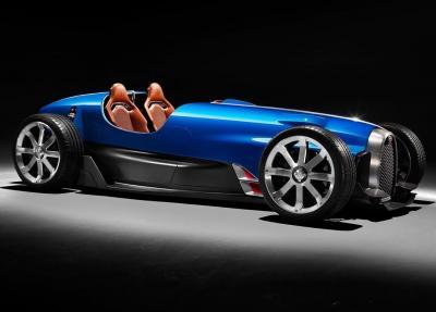 Bugatti 35 Type D | Les photos du showcar inspiré par la mythique Type 35