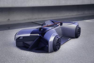 Nissan GT-R (X) 2050 | Les photos du futuriste engin monoplace