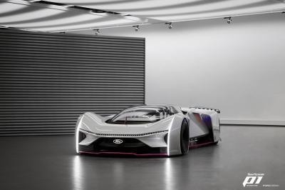 Team Fordzilla P1 | Les photos du prototype numérique transféré au monde réel