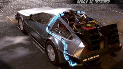 La DeLorean de Retour vers le Futur dans les moindres détails | les photos