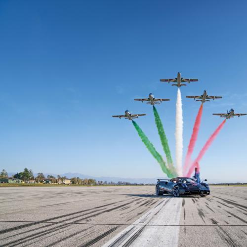 Pagani Huayra Tricolore | Les photos de la supercar italienne en série limitée