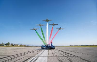 Pagani Huayra Tricolore | la supercar italienne en 6 points