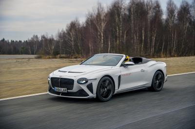 Bentley Bacalar Car Zero | Les photos du speedster de grand luxe